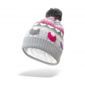 Multi-Coloured Fair Isle Bobble Hat