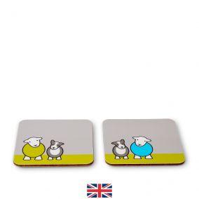 Herdy & Sheppy Coaster