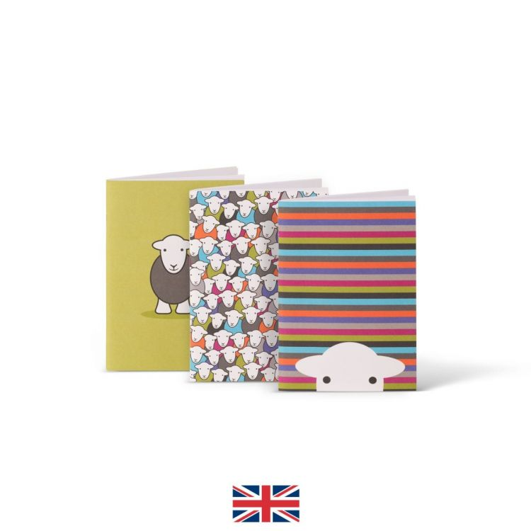 A6 Notebook - 3 Pack