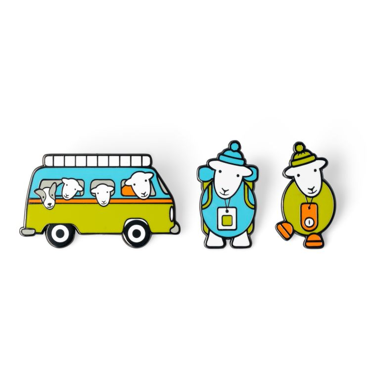 Adventures Pin Badge Set