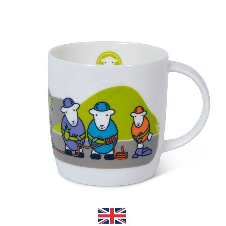 Climber Herdy Mug