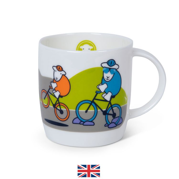 Seconds Cycler Herdy Mug