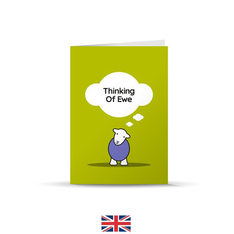 Thinking Of Ewe Card