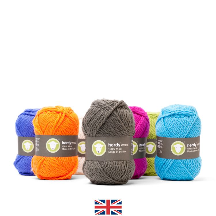 Herdy Wool Yarn - 50% Off