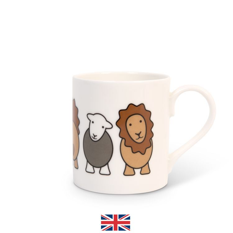 Special Edition Lion And Lamb Mug