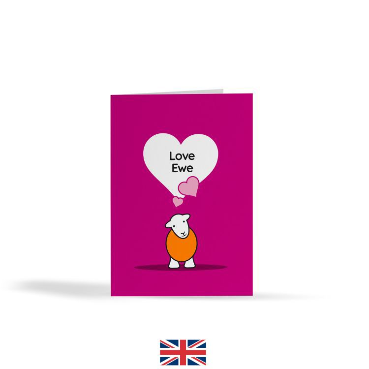 Love Ewe Card