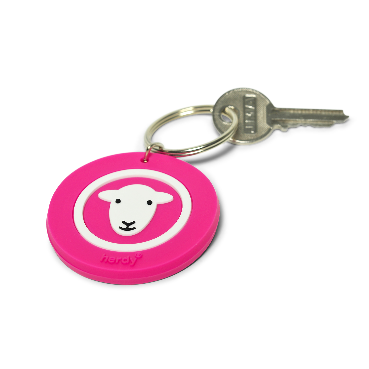 Classic Keyring - Pink