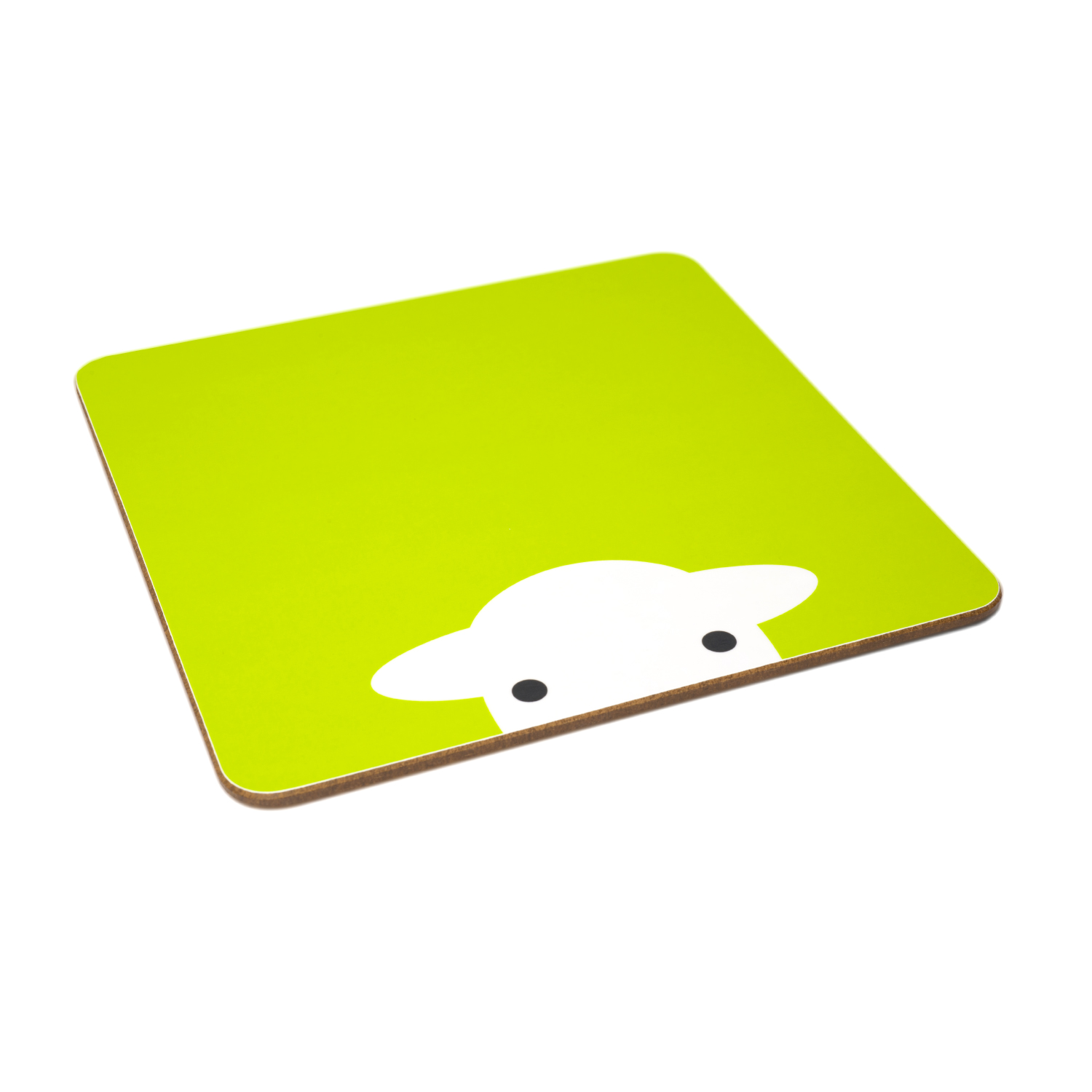Peep Melamine Tablemat - Green