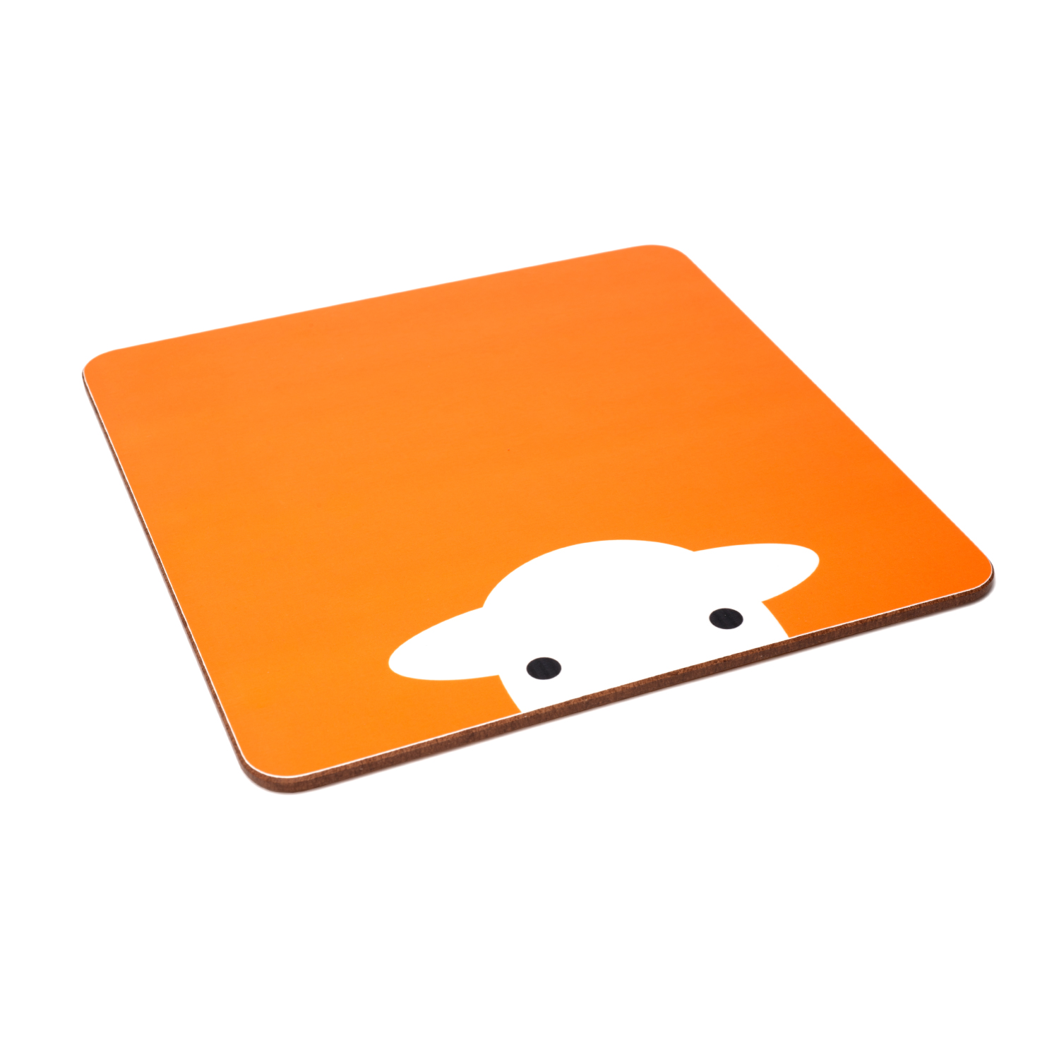 Peep Melamine Tablemat - Orange