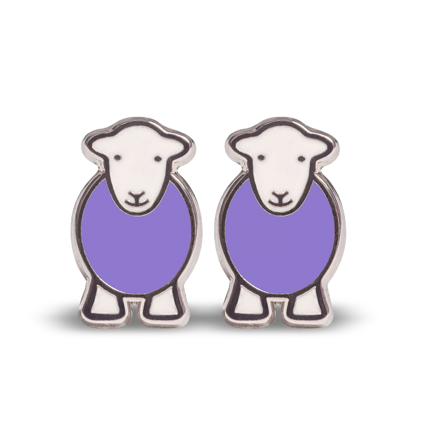 Marra Earrings - Purple