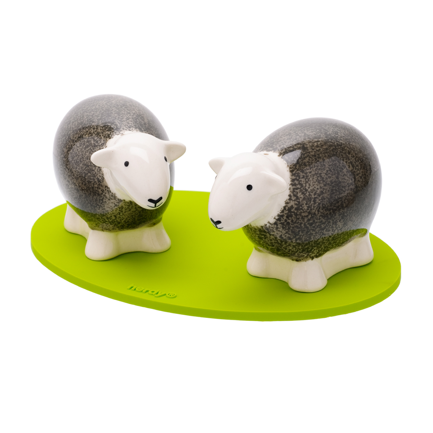 Salt And Pepper Shakers - Grey
