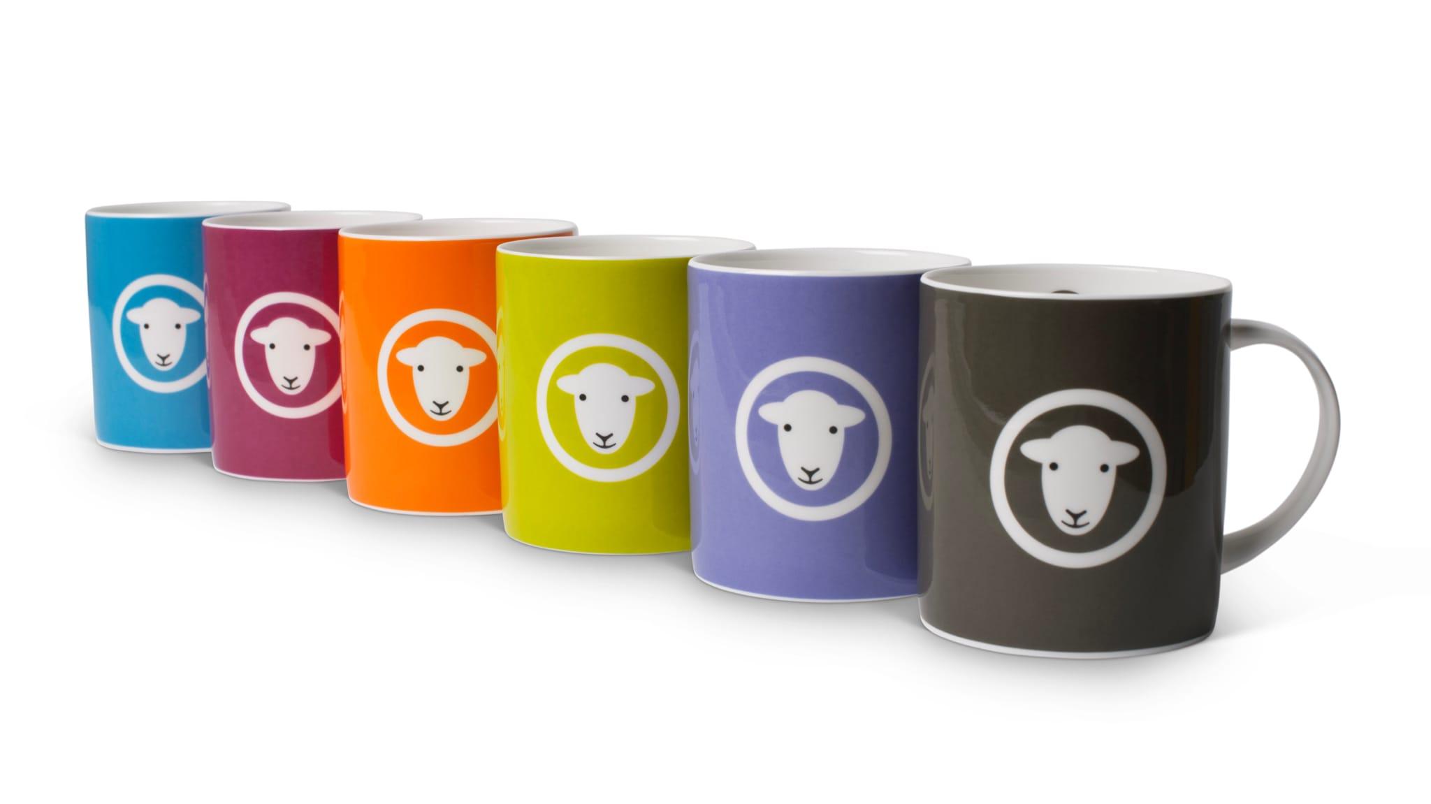 The Herdy Classic mug range