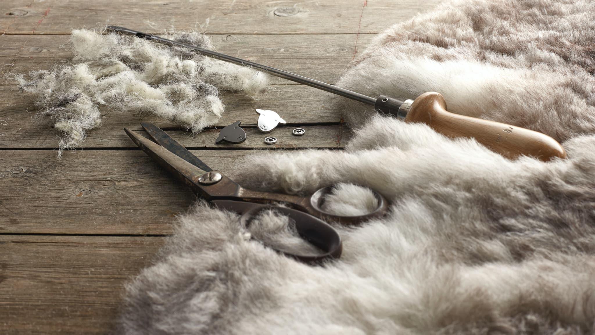 Natural wool fibres let you breathe