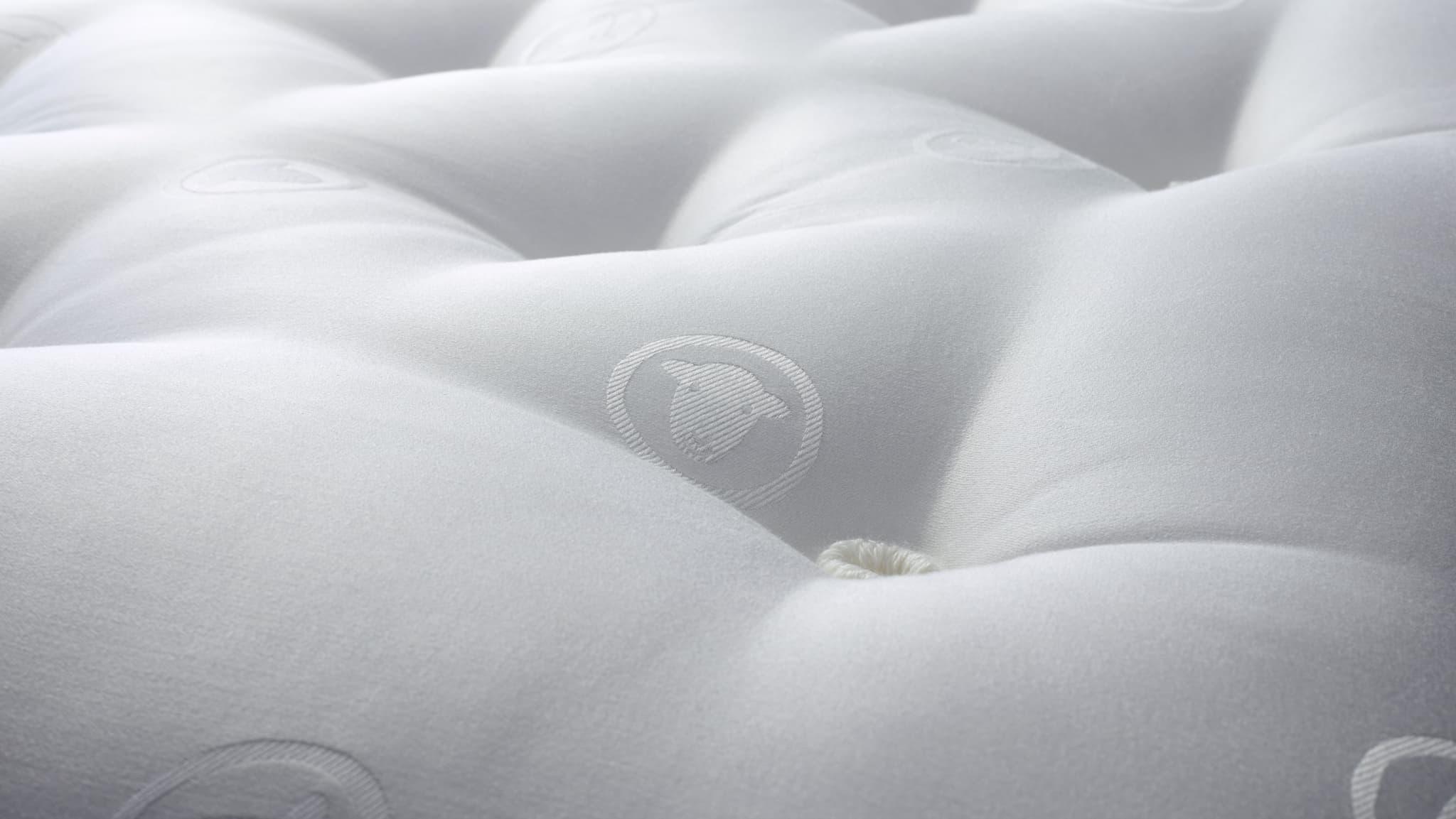 A natural wool mattress is safer