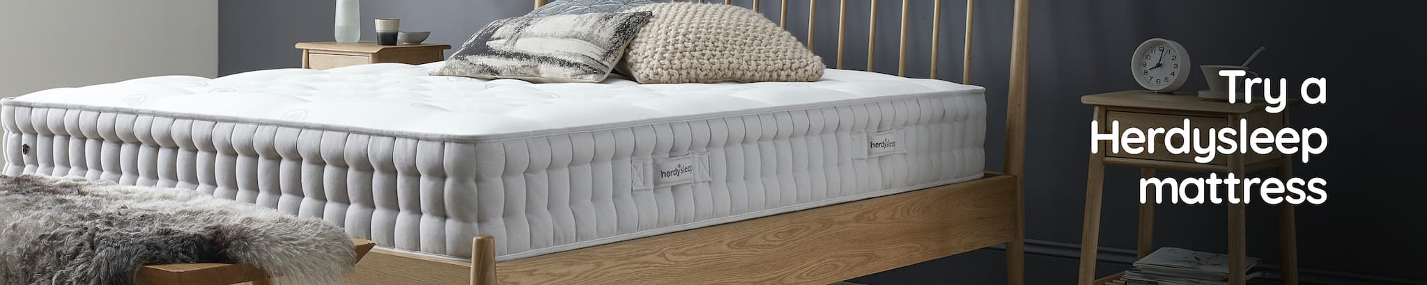 Try a Herdysleep mattress