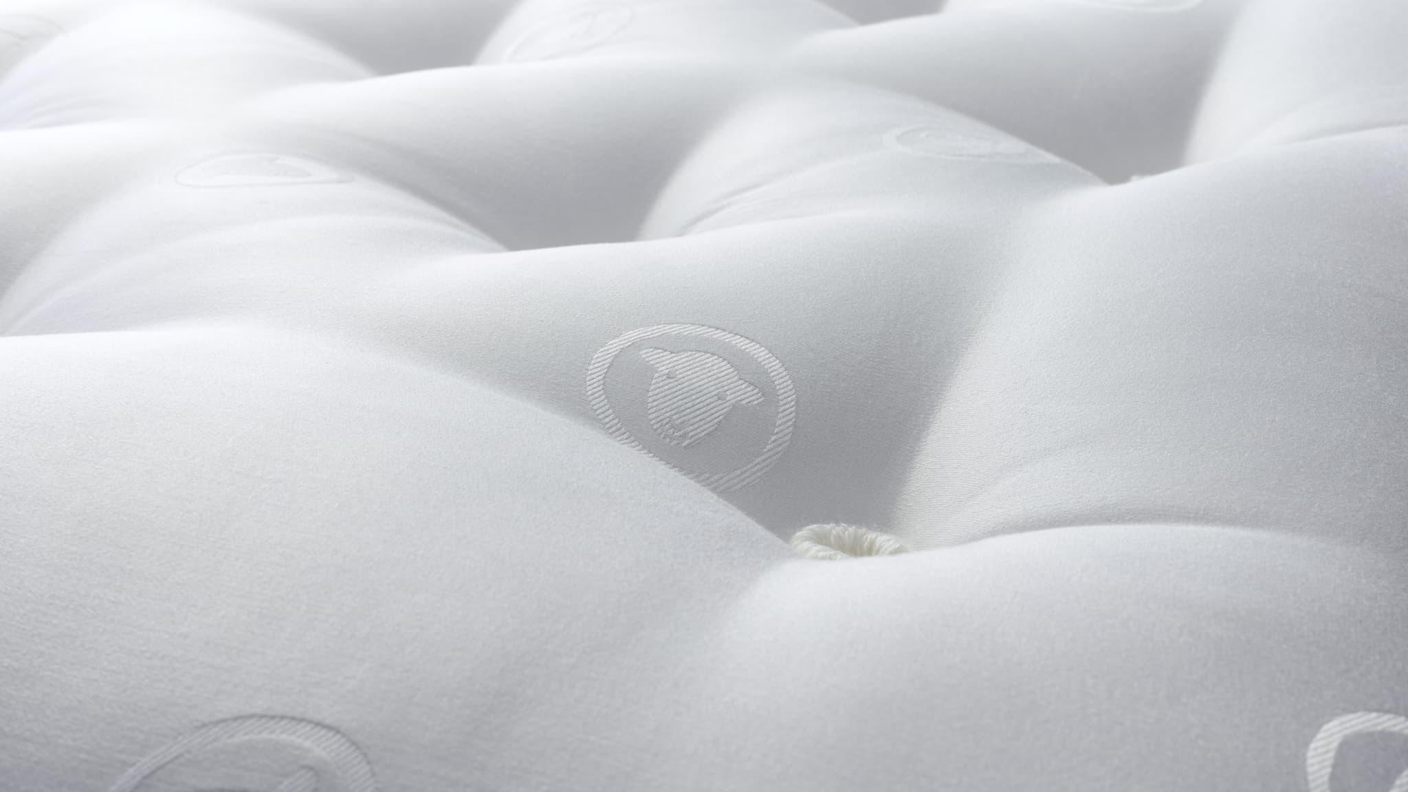 Tufting a mattress