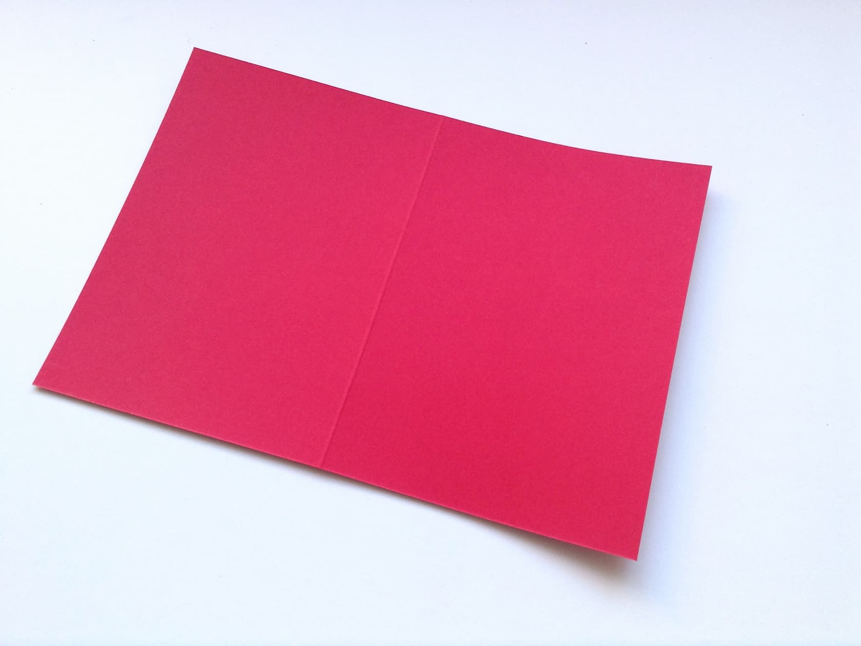 Take your red Valentine's card