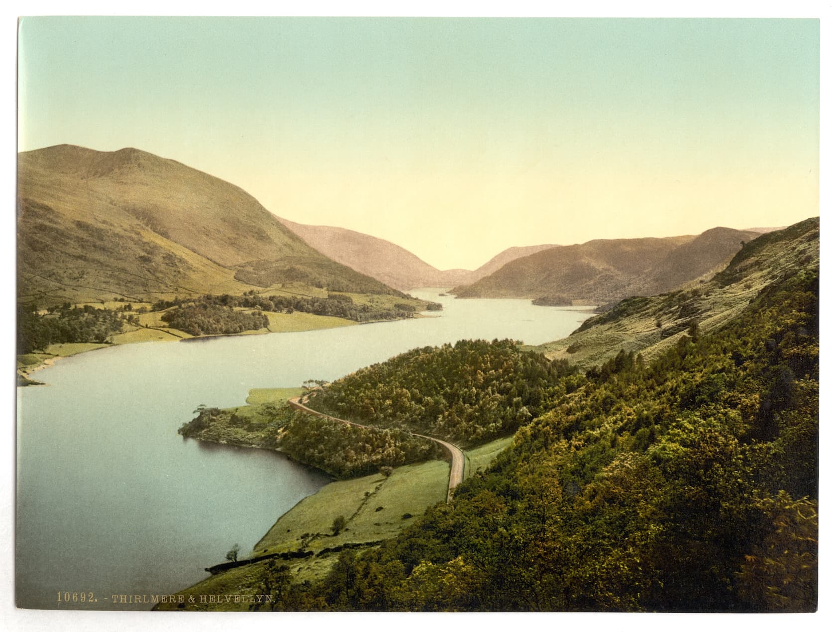 Thirlmere, painted in the late 19th century