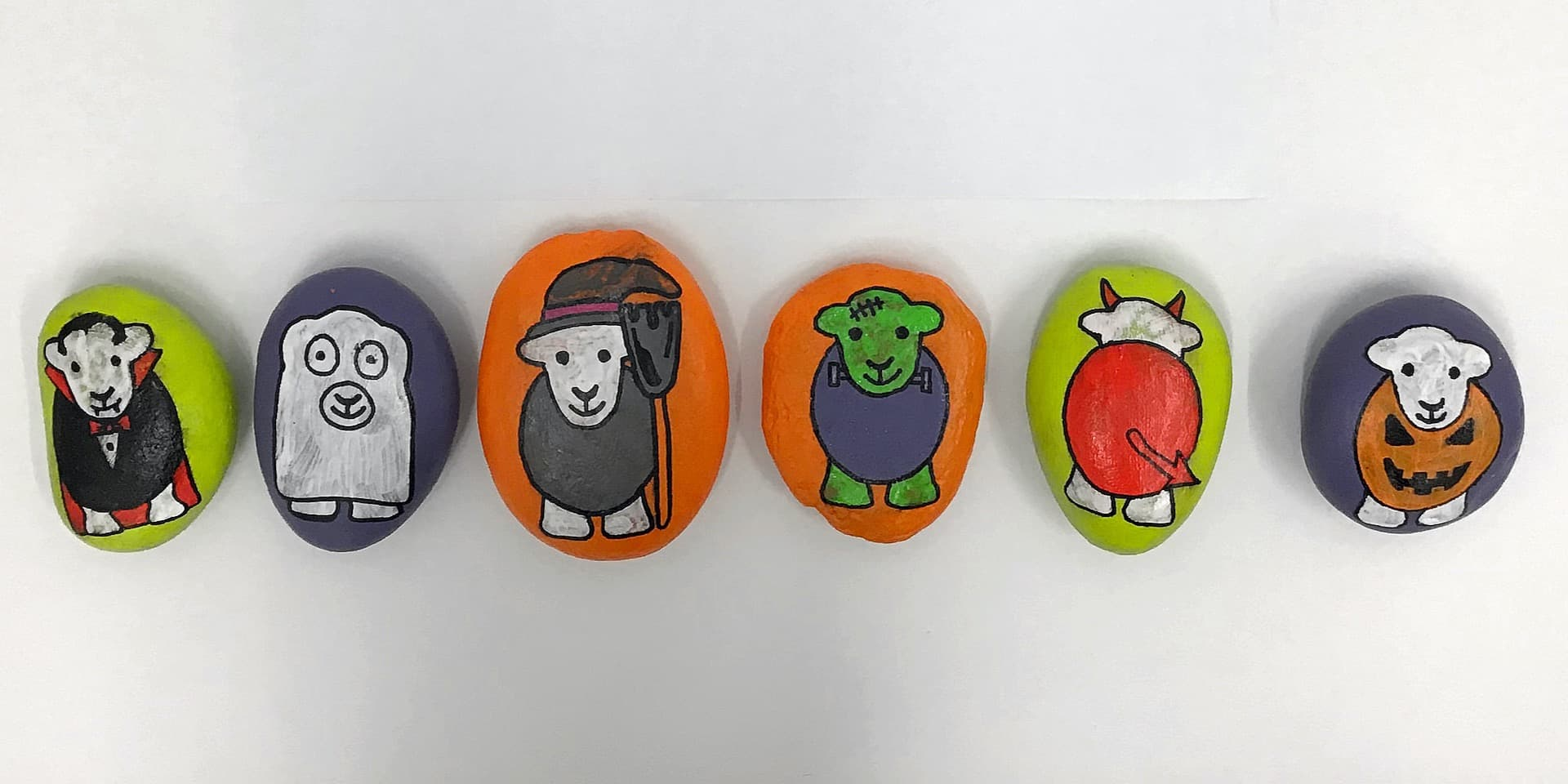 How To: Halloween Painted Rocks