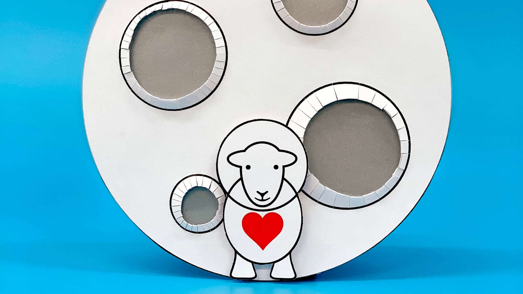 How To: Herdy Valentine's Card