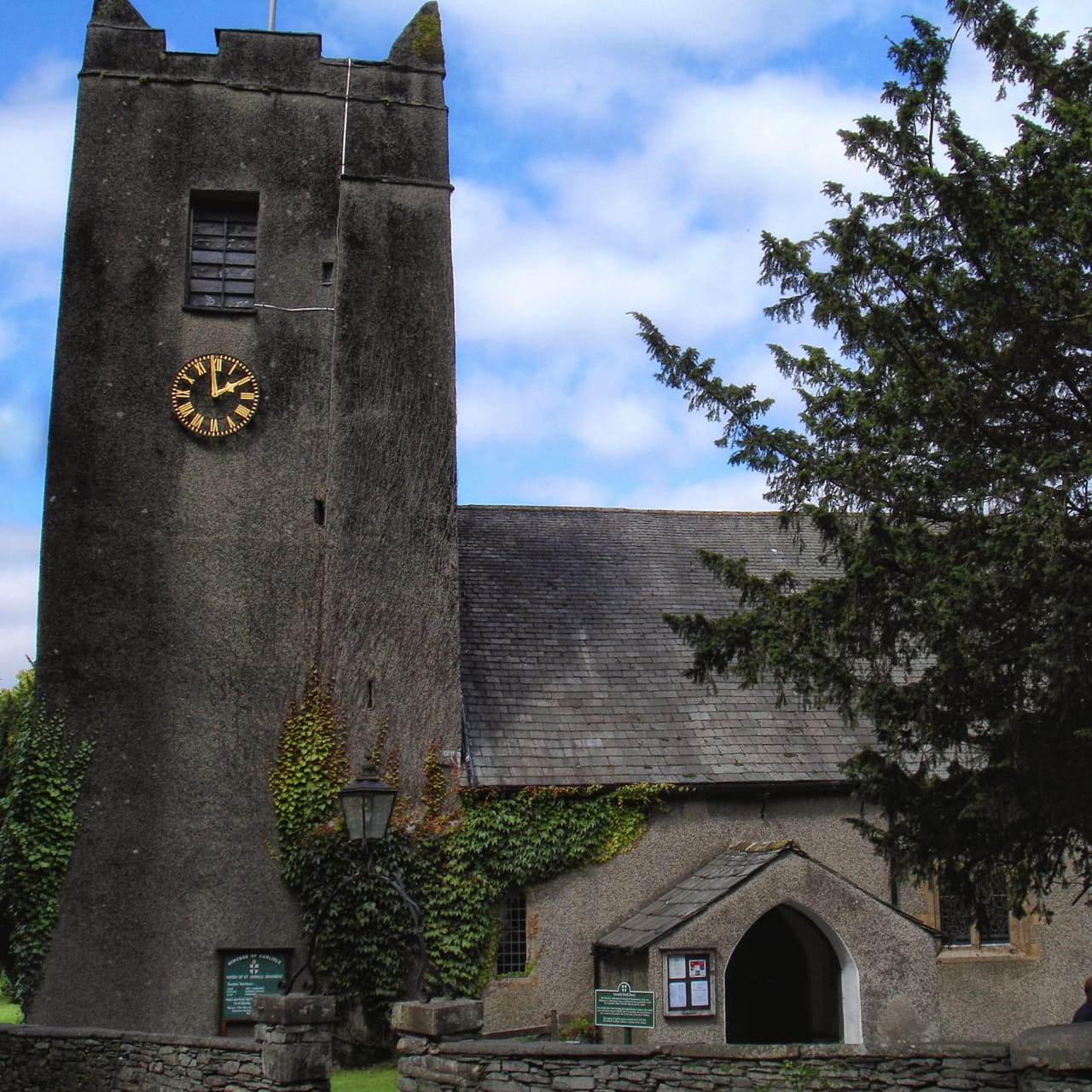 St. Oswald's Church in Grasmere