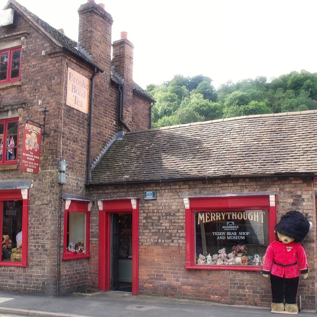 Merrythought Teddy Bear Shop and Museum, Ironbridge, Shropshire, UK. Photo by Elliott Brown, licensed CC-BY-2.0.