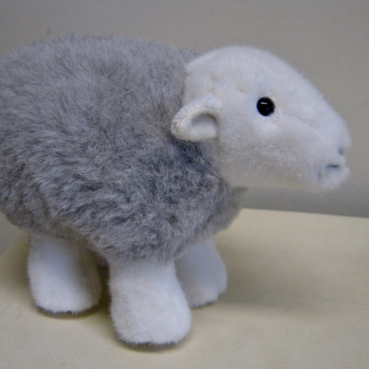 Bigger prototype of the original My Herdy, side view