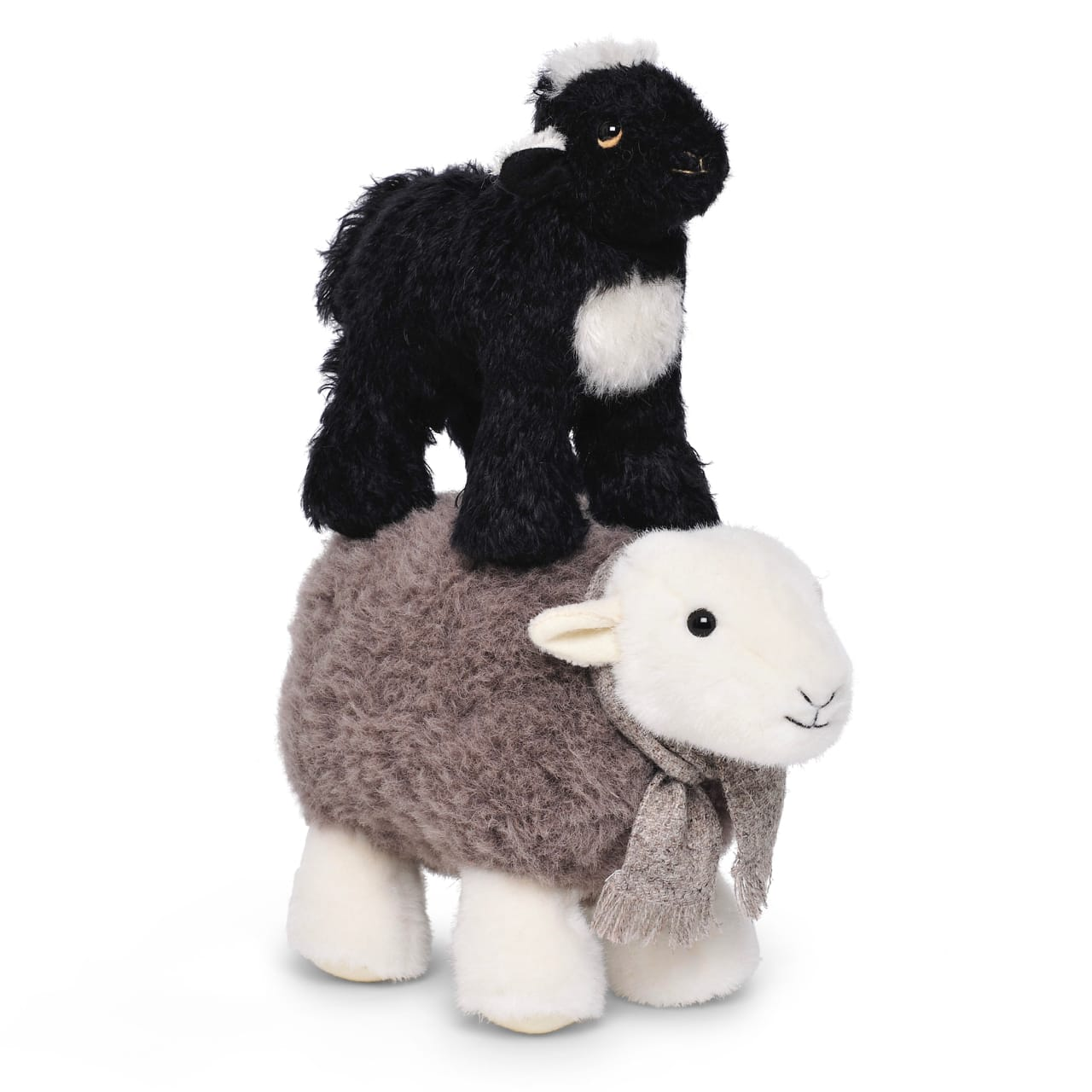 My Herdy Lamb on top of the original My Herdy, much like lambs sometimes do with their mothers