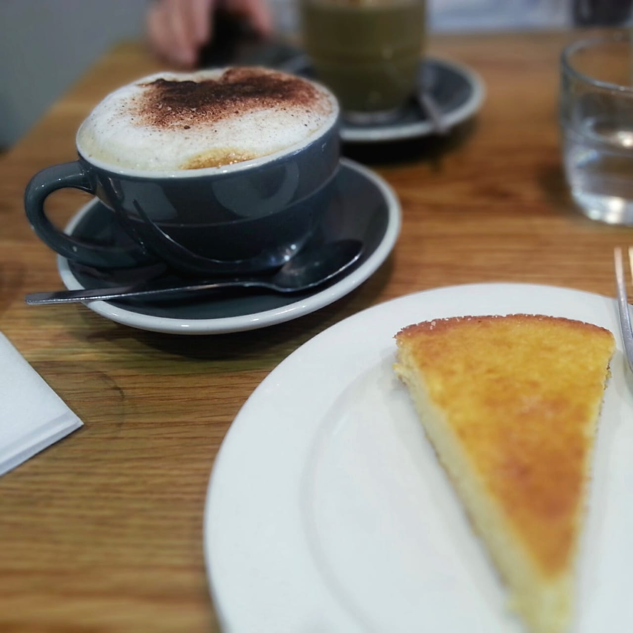 Coffee and cake can be had at the many cafés of Keswick
