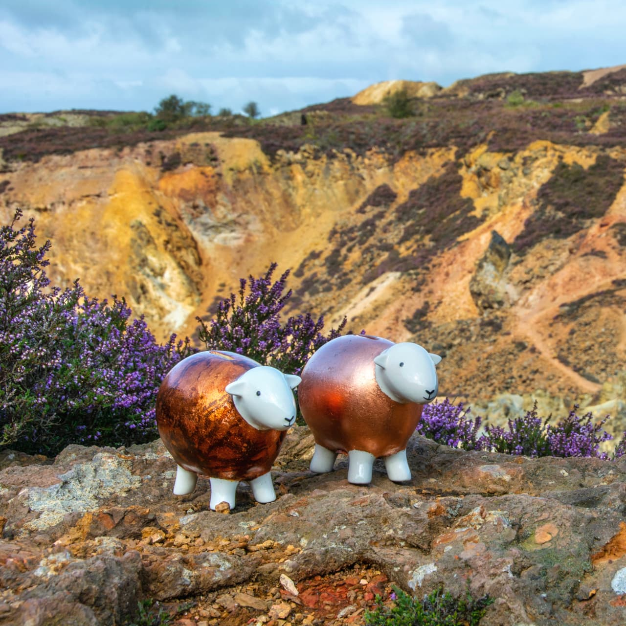 The Copper Herdys visited Parys Mountain on Anglesey, once the largest copper mining site in the world.