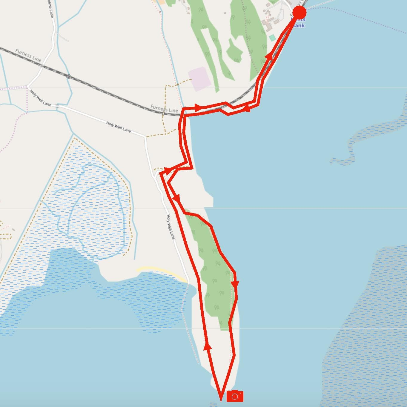 Humphrey Head circular route