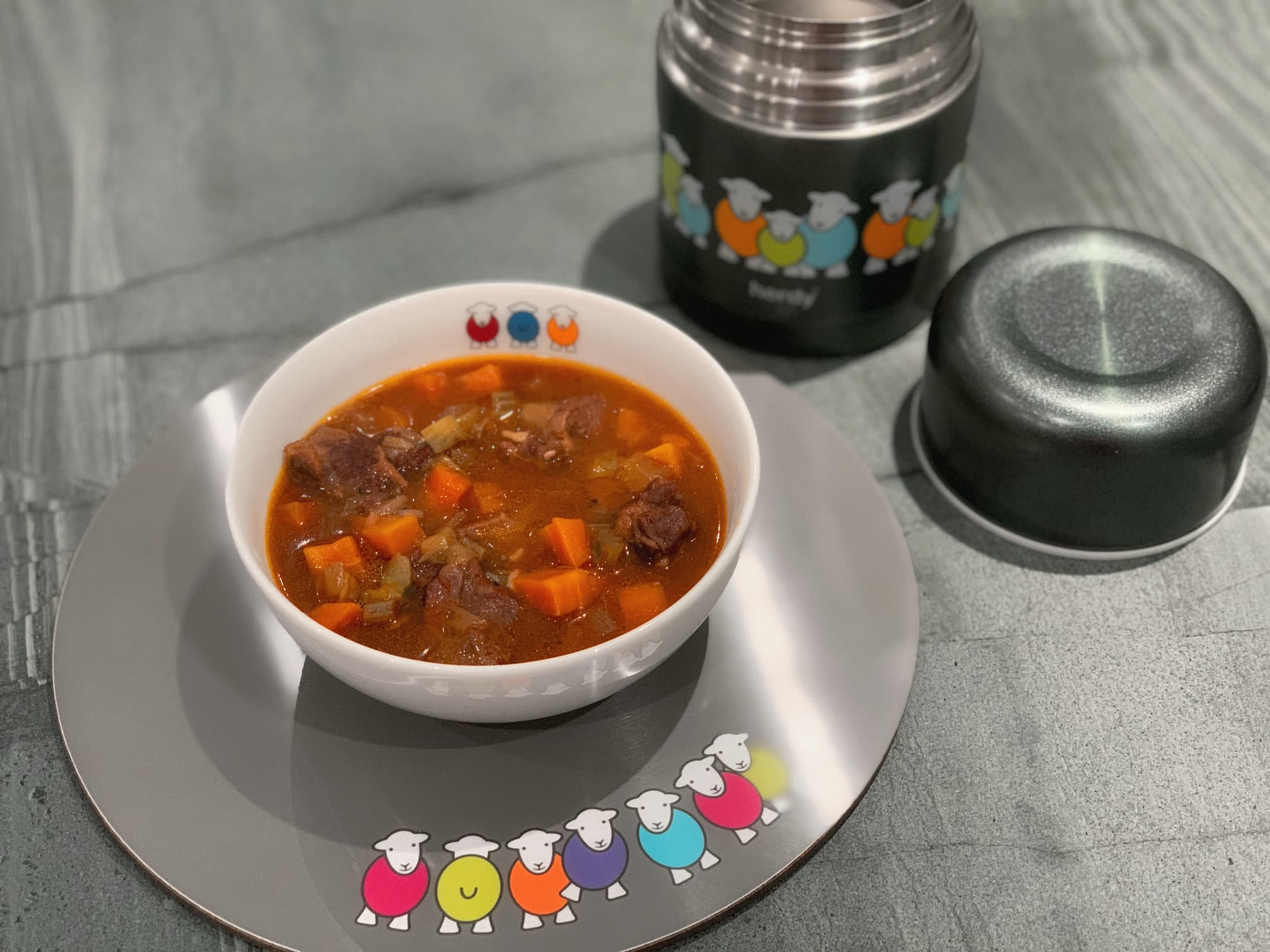 Cumberland Winter Stew. Save for lunch at work using our Marra Soup Flask