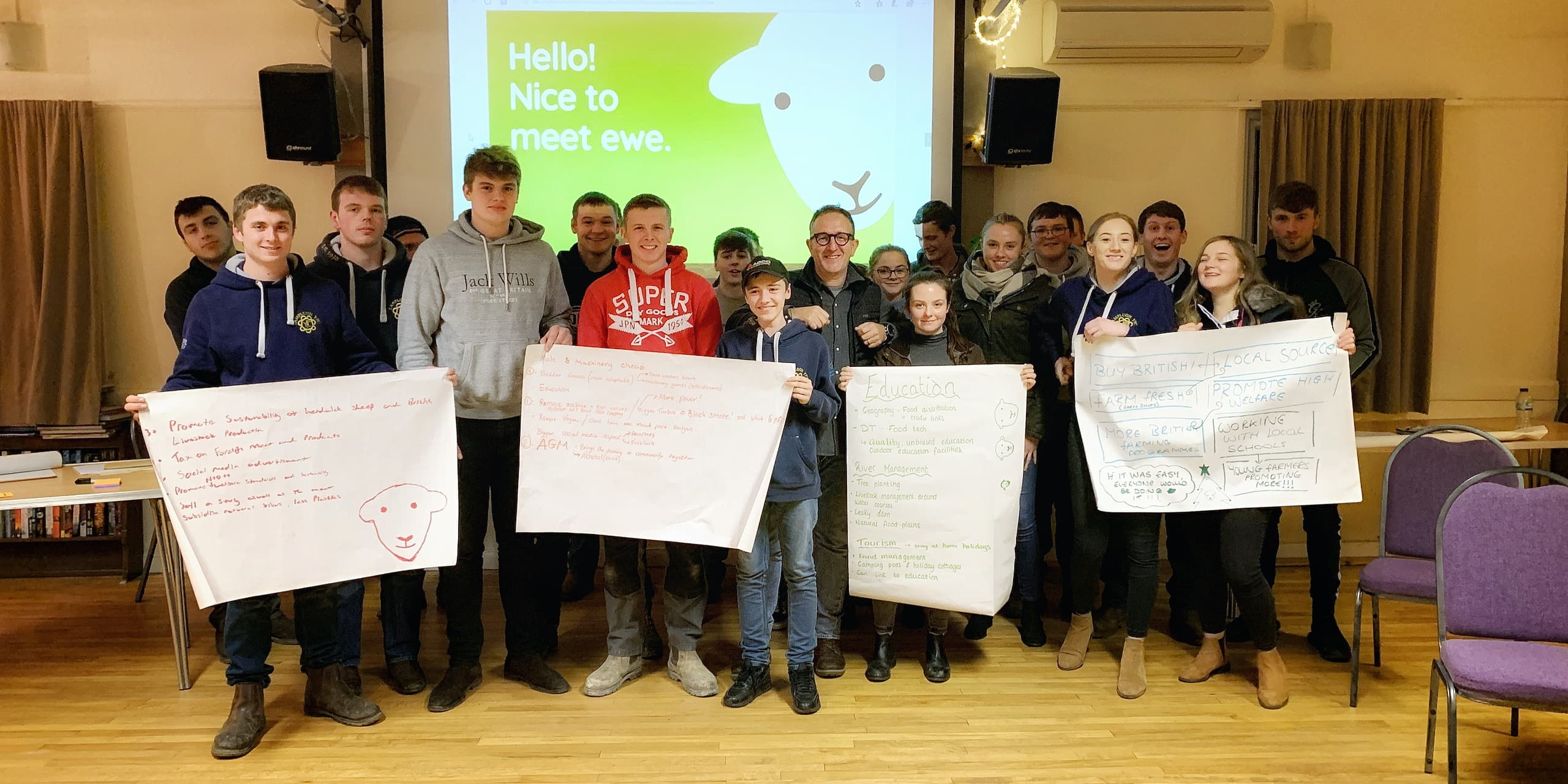 Herdy Rouses Lamplugh Young Farmer's Club