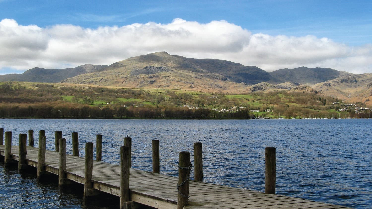 Visiting Coniston Water from Coniston