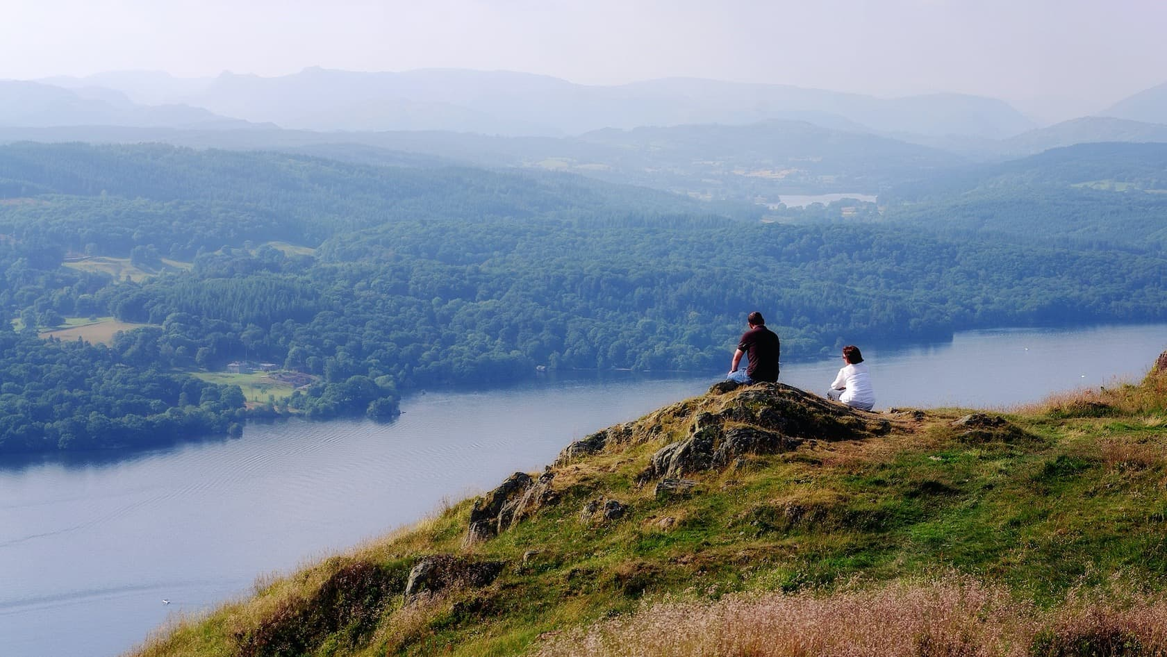 The view over Lake Windermere from Gummer's How. Photo by mattbuck, licensed CC-by-SA-3.0