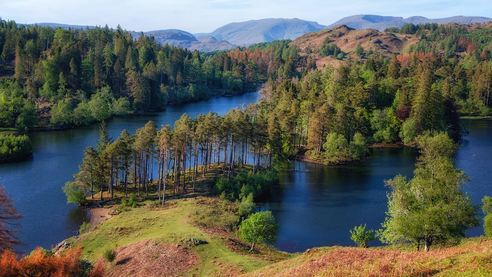 Tarn Hows walk for 1st time Lake District visitors