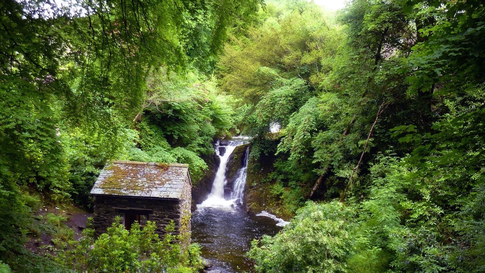 Visiting Rydal Falls