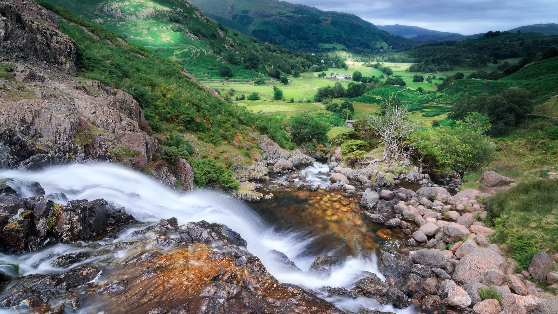 Visiting Sour Milk Ghyll near Grasmere