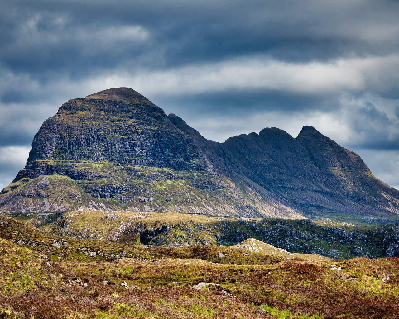 Suilven, a mountain in the Assynt area of the Northwest Highlands of Scotland, is around 3 billion years old. Photo by Paul Hermans, licensed CC-by-SA-3.0