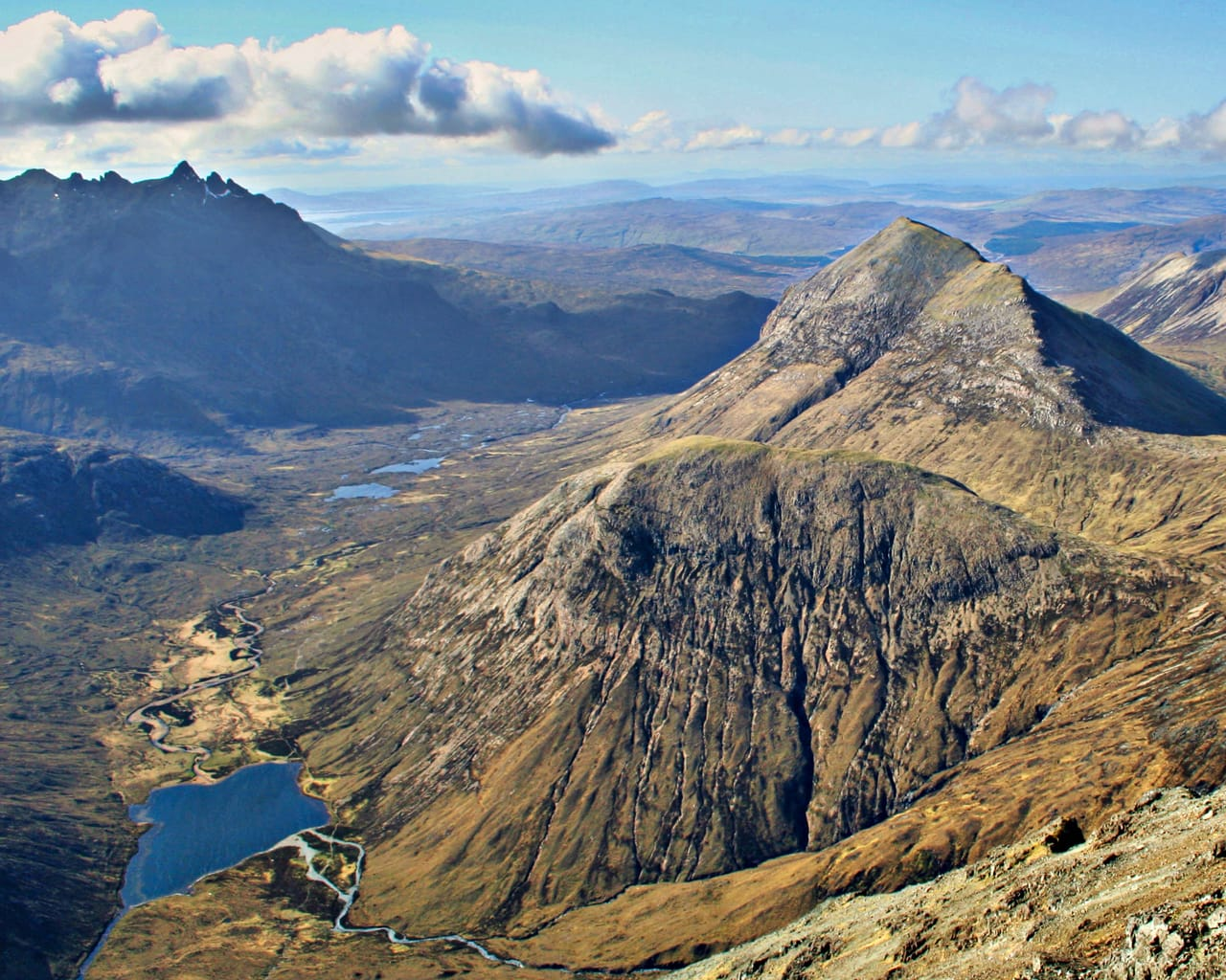 The Cuillins on the Isle of Skye are around 60 million years old. Photo by Andy Williams, licensed CC-by-SA-2.0