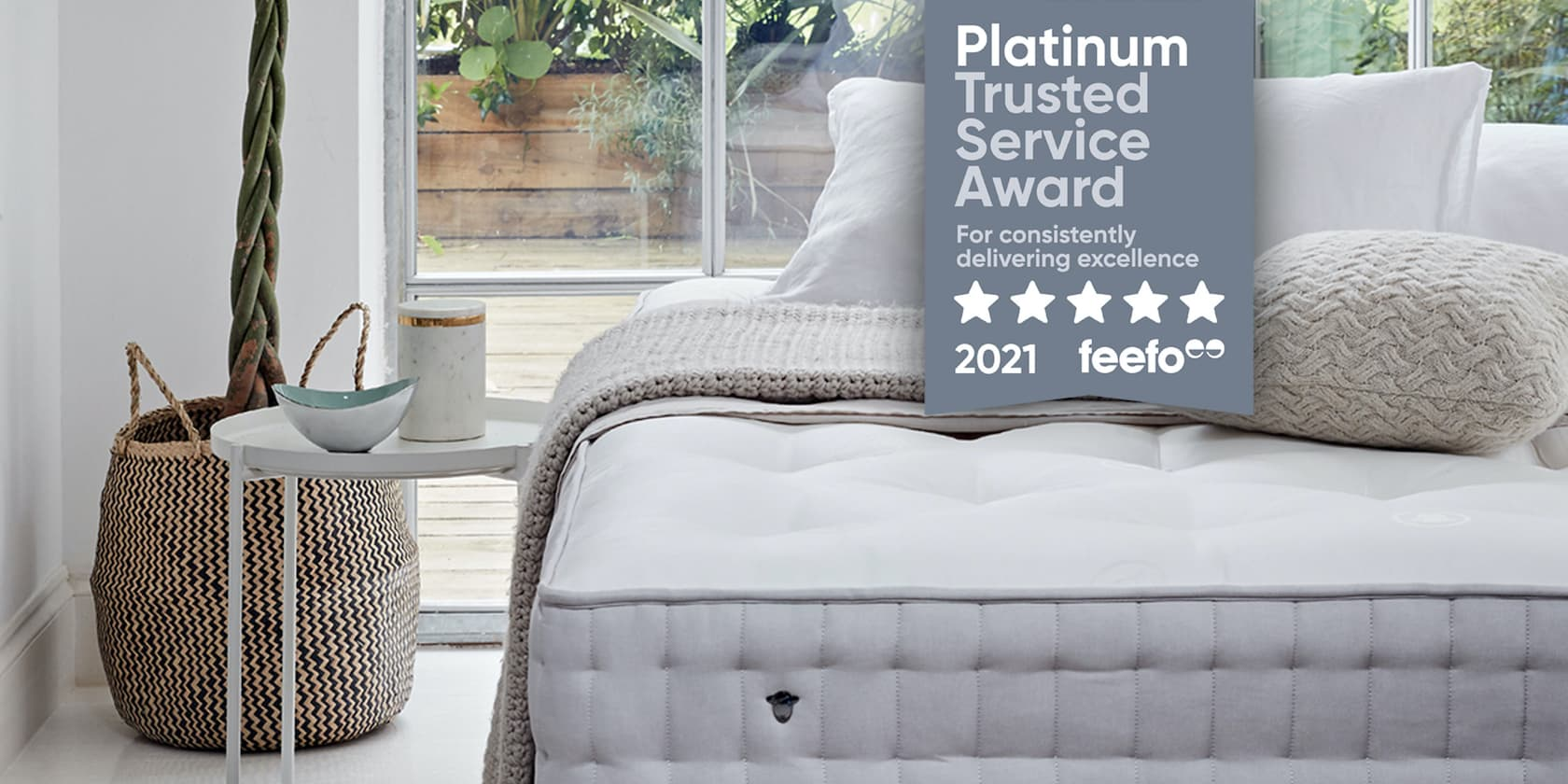 Herdysleep Receives Feefo Platinum Trusted Service Award 2021